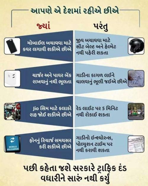 Gujarati Blog status by Jigs Hindustani on 18-Sep-2019 03:10:44pm | Matrubharti