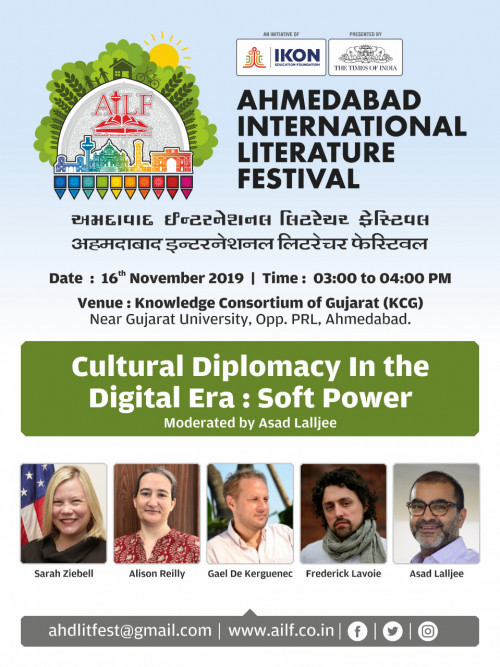 Post by Ahmedabad International Literature Festival on 12-Nov-2019 06:00pm