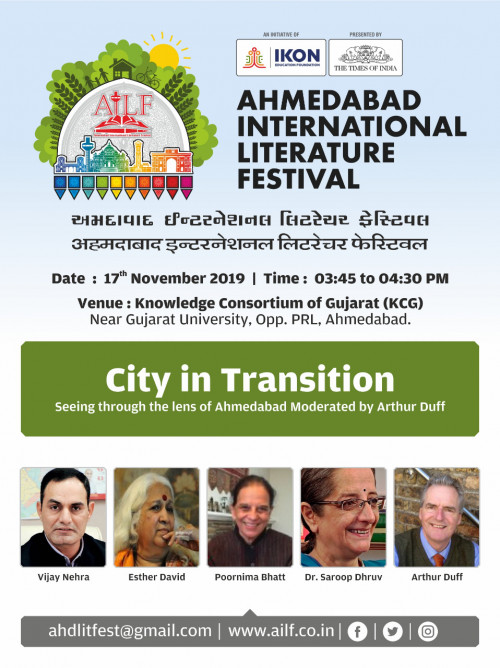 Post by Ahmedabad International Literature Festival on 12-Nov-2019 08:00pm