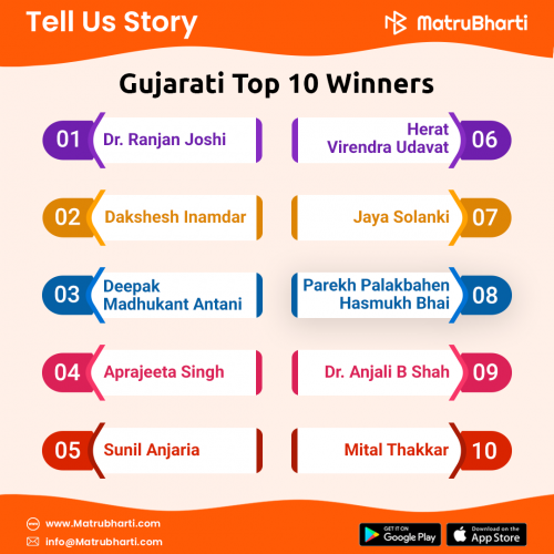 #AudioStatus in Hindi, Gujarati, Marathi | Matrubharti